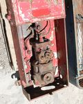 French Wall Mount Petrol Pump For Restoration