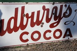 Gadbwryand39s Cocoa Enamel Advertising Sign