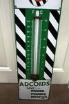 Genuine Duckhams Adcoids Enamel Wall Thermometer