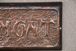 Genuine House Name Plate andquotBELMONTandquot