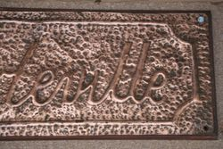 Genuine House Name Plate andquotCHARLEVILLEandquot