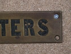 Genuine House Name Plate andquotLETTERSandquot