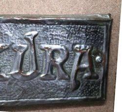Genuine House Name Plate andquotMAKURAandquot