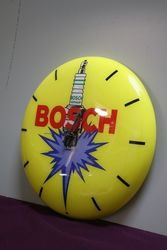 Genuine Plastic Bosh Wall Clock