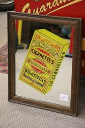 Gold Flake Cigarettes Framed Mirror