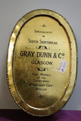 Gray Dunn and Co Glasgow Scotch Shortbread Pictorial Biscuit Tin