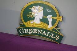 Greenalls Enamel Sign