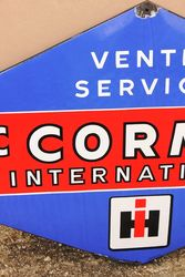 HIH McCormick Enamel Service Sign