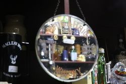 Haig and Haig Scotch Whisky Hanging Mirror