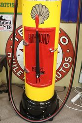 Hammond D Manual Petrol Pump in Shell Livery
