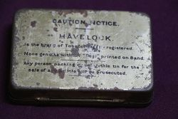 Havelock Flake Cut Tobacco Tin