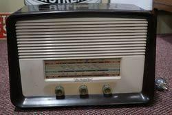 His Masters Voice Brown Bakelite Radio