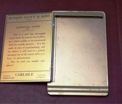 Hudson Scott And Sons Carlisle Note Pad