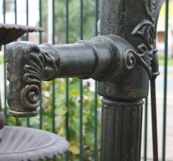 Huge Cast Iron Decorative Well Pump