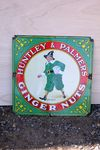 Huntley And Palmers Ginger Nuts Enamel Sign