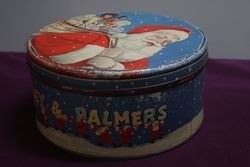 Huntley Palmer Xmas Tin