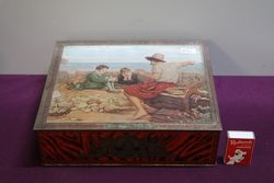 Huntley and Palmers Pictorial Biscuit Tin