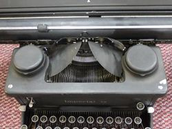 Imperial Typewriter with Wide Carriage