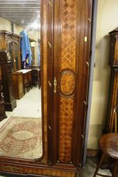 Inlaid French Armoire