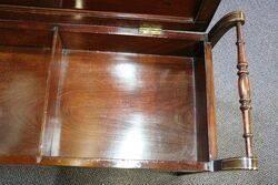 Inlaid Mahogany Duet Piano Stool