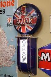 Jaguar Garage Light Box