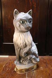 Jim Beam Bourbon Porcelain Cat Decanter