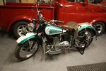 1942 India 741 Scout Historic Motorcycle.