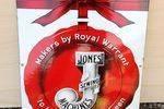 Jones Sewing Machine Enamel Advertising Sign