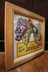 Juvigor Framed Advertising Card