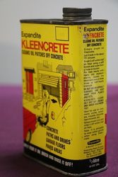 Kleencrete 500ml Oil Patches Cleaner Tin