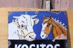 Kozitos Cooked Maize Pictorial Enamel Sign