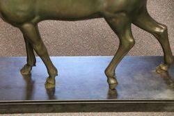 Large Bronze Doe by Irenee Rochard