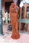Large Cast Iron Garden Statues
