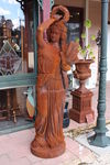 Large Cast Iron Garden Statues
