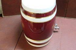 Large Ceramic Oloroso Sherry Dispenser