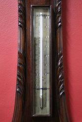 Large Early C20th Banjo Barometer