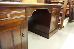 Large Edwardian Partners Desk
