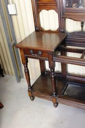 Large Late Victorian Oak Hall Stand C1890