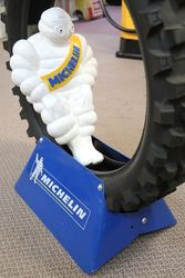 Large Michelin Promoting Display With Tyre  Tyre stand