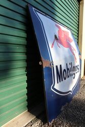 Large Mobilgas Enamel Advertising Sign