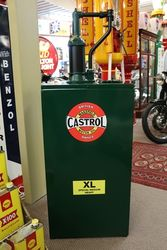 Large Restored Genuine Castrol Wakefield Square HiBoy Oil Pump