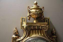 Large Size Louis XVI Style Cartel Wall Clock