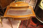 Late 19th Century Inlayed Mahogany Ladies Writing Desk