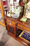 Late 19th Century Walnut Mirror Backed Sideboard C1898