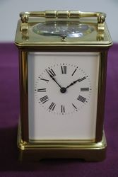 Late C19th French Repeater Carriage Clock