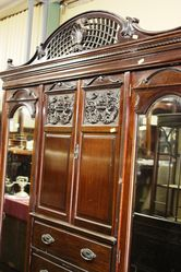 Late Victorian Mahogany 4 Piece Bedroom Suite