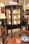 Late Victorian Mahogany Display Cabinet