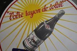 Le Santon Double Sided Pub Enamel Sign