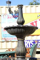 Lisbon Cast Iron 2 Tier Fountain
