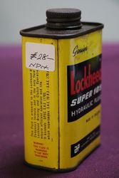 Lockheed Hydraulic Fluid Tin